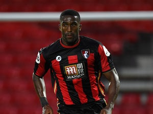 Sylvain Distin of Bournemouth in action during a Pre Season Friendly between AFC Bournemouth and Cardiff City at Vitality Stadium on July 31, 2015