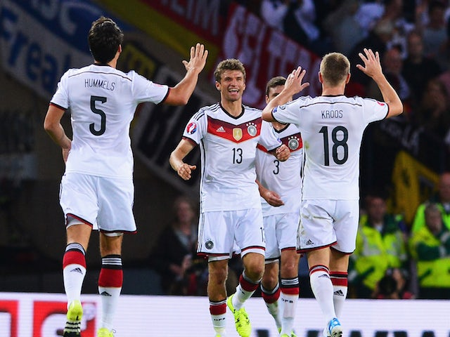 Result: Germany too strong for Scotland
