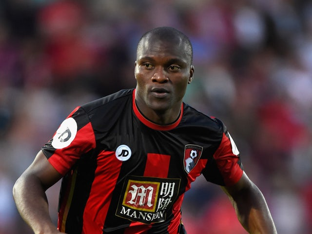 Tokelo Rantie of Bournemouth in action during a Pre Season Friendly between AFC Bournemouth and Cardiff City at Vitality Stadium on July 31, 2015