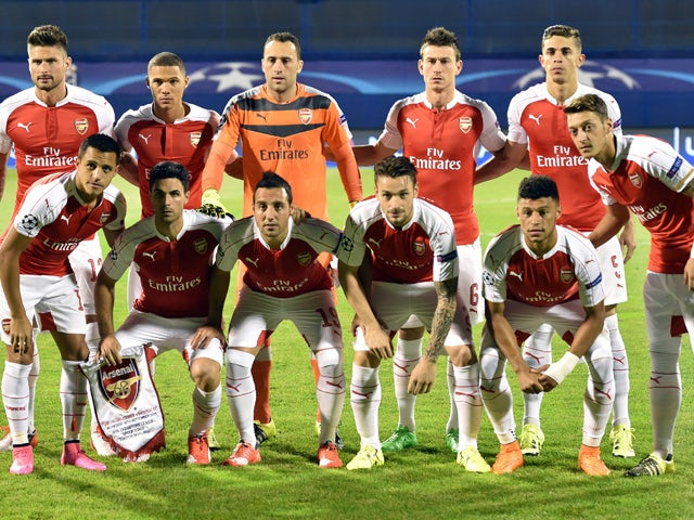 Team News: Six changes for Arsenal against Dinamo Zagreb ...
