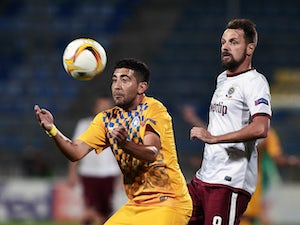 Asteras, Sparta Prague share points