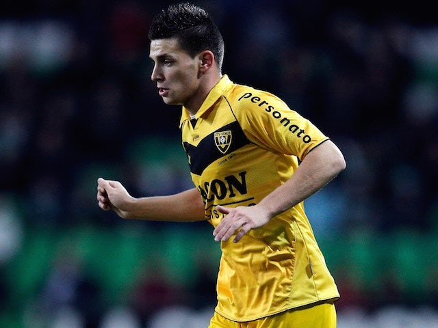 Brian Linssen in action for Venlo in December 2012