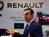 Chairman and CEO of Nissan and Renault Carlos Ghosn speaks during an interview at the 16th Shanghai International Automobile Industry Exhibition in Shanghai on April 20, 2015. Global car makers showed off hundreds of vehicles in China's commercial hub Sha