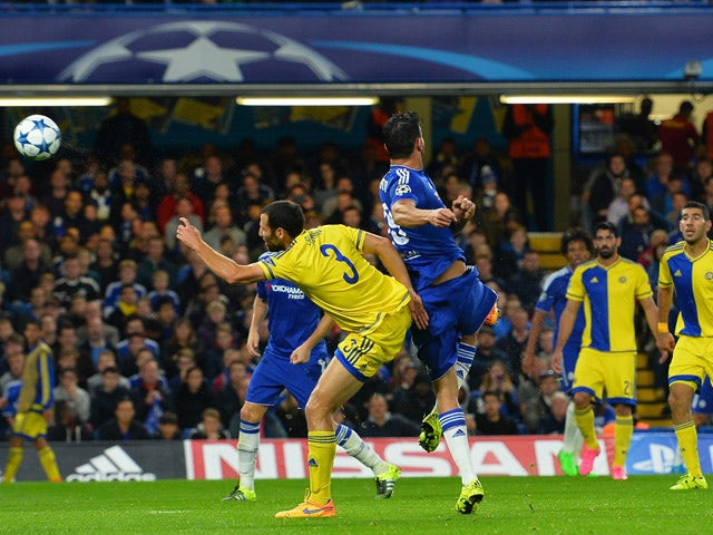 Result: Chelsea put four past Maccabi Tel Aviv