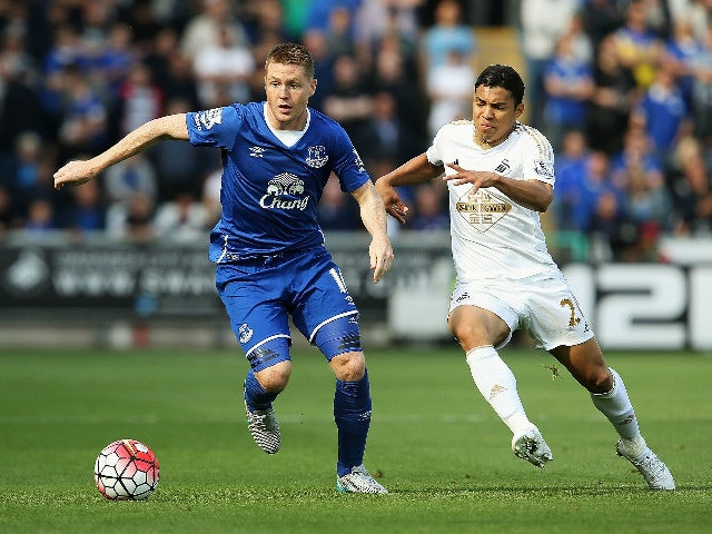 Result: Swansea City, Everton share point