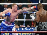George Groves in action against Badou Jack on September 12, 2015