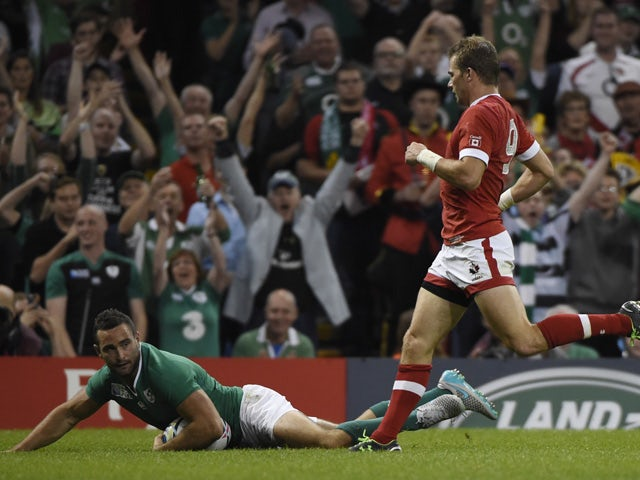 Result: Ireland secure comfortable victory over Canada