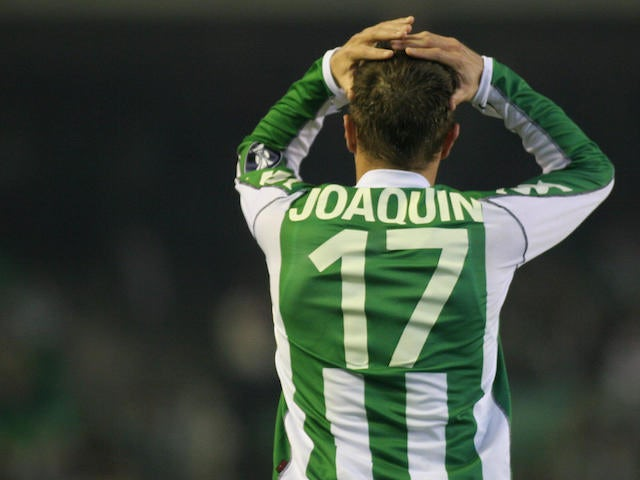 Result: Joaquin scores in Real Betis win