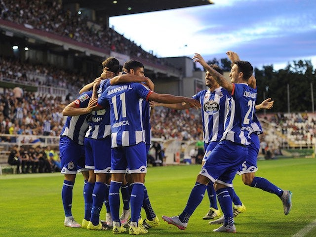Result: Depor see off 10-man Rayo