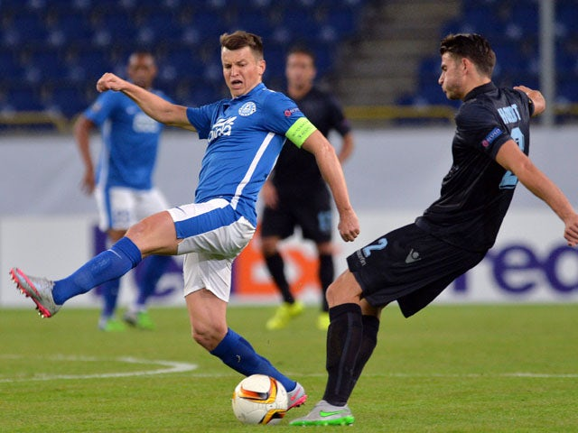 Result: Dnipro leave it late to draw with Lazio