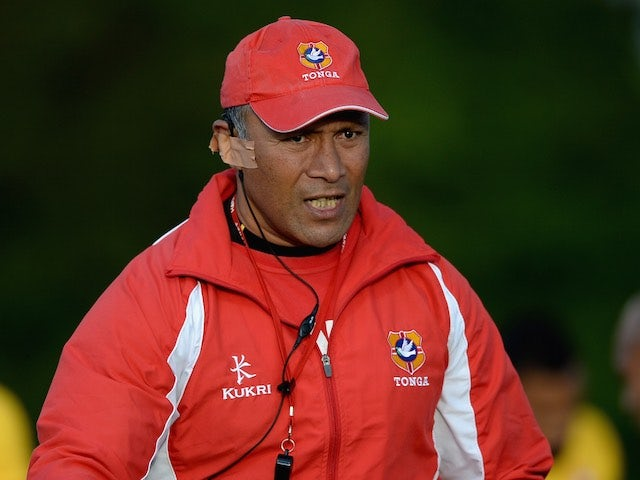 Tonga head coach Mana Otai pictured on August 28, 2015