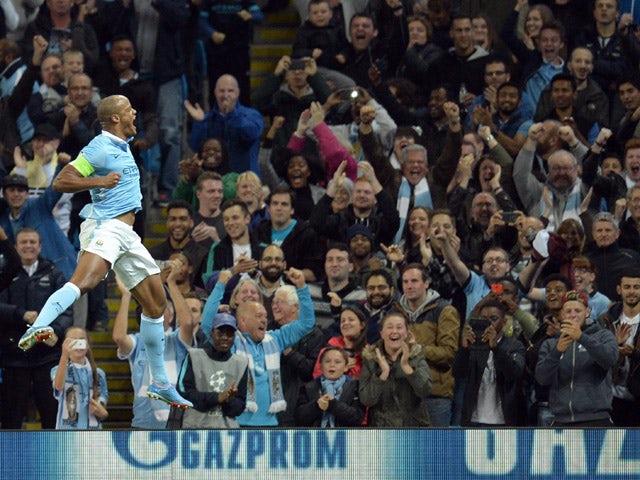 Result: Kompany inspires Man City to Southampton win