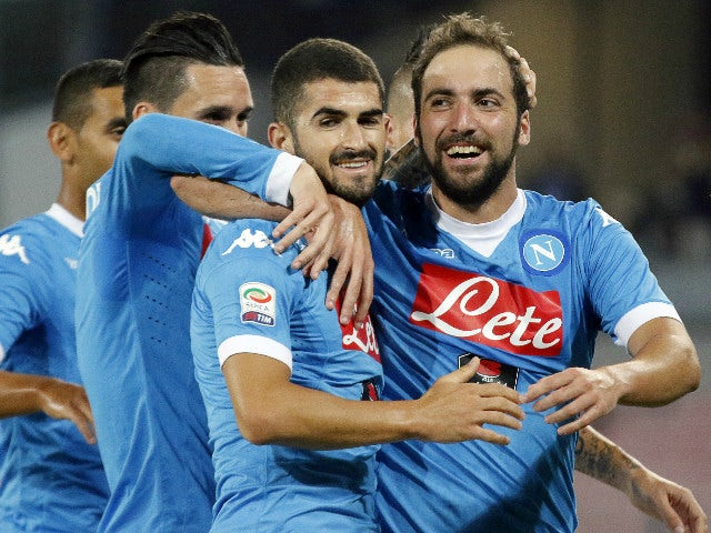 Result: Higuain strike caps Napoli win over Juve