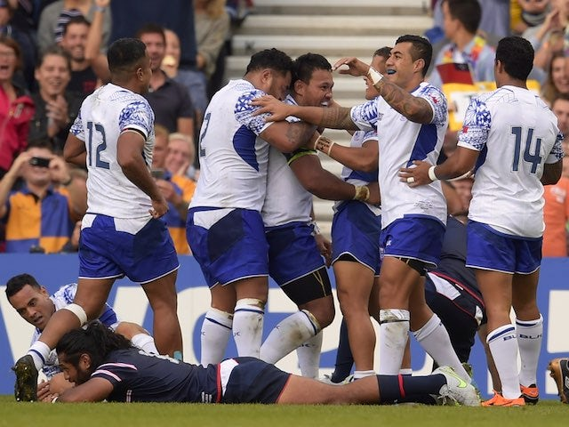 Result: Samoa defeat USA in Rugby World Cup opener