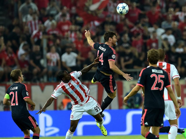 Result: Munich eventually get the better of Olympiacos