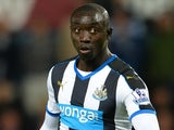 Newcastle United's Senegalese striker Papiss Cisse controls the ball during the English Premier League football match between West Ham United and Newcastle United at The Boleyn Ground in Upton Park, East London on September 14, 2015
