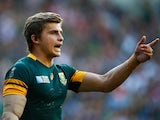 Pat Lambie / Patrick Lambie of South Africa during the Rugby World Cup Pool B match against Japan in Brighton on September 19, 2015