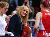 England coach Tracey Neville speaks to players during the 2015 Netball World Cup Semi Final 1 match between New Zealand and England at Allphones Arena on August 15, 2015 in Sydney, Australia.