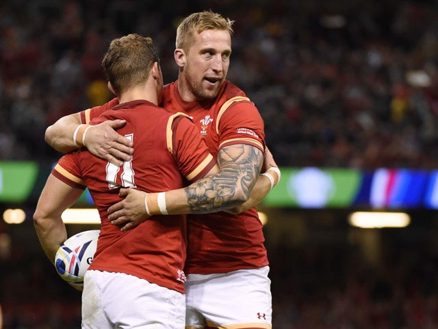 Result: Eight-try Wales up and running at World Cup