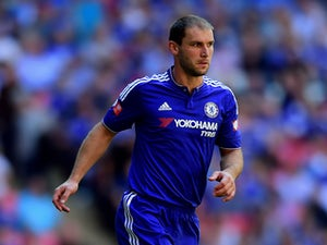 Branislav Ivanovic of Chelsea in actoin during the FA Community Shield match between Chelsea and Arsenal at Wembley Stadium on August 2, 2015