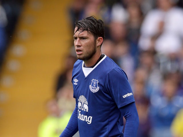 Bryan Oviedo of Everton in action during the Pre Season Friendly match between Leeds United and Everton at Elland Road on August 1, 2015