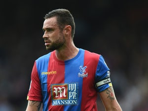 Damien Delaney of Palace looks on during the Barclays Premier League match between Crystal Palace and Arsenal on August 16, 2015