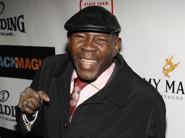Former boxer Emile Griffith attends the premiere of 'Black Magic' at The Apollo Theatre February 25, 2008