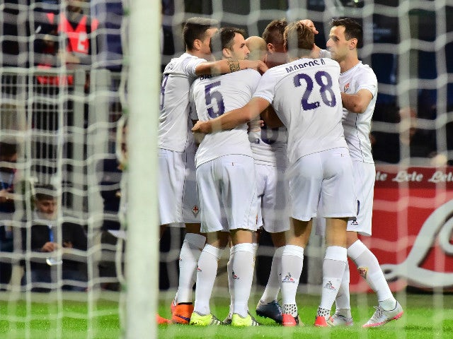 Result: Fiorentina go top with Inter Milan win