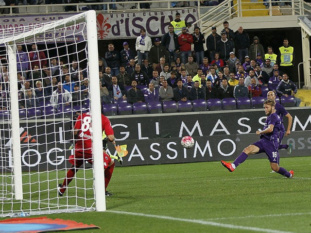 Result: Fiorentina win third game in a row