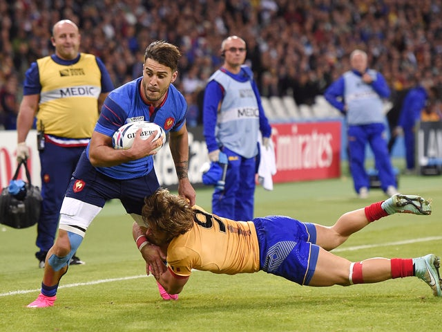 Result: France down Romania with five tries