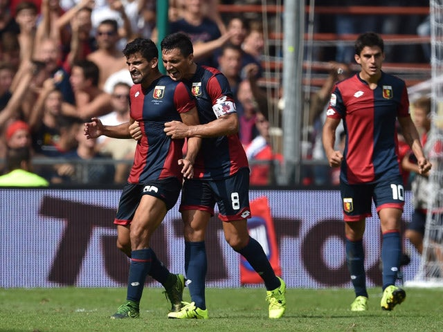 Result: Genoa snatch a point at the death