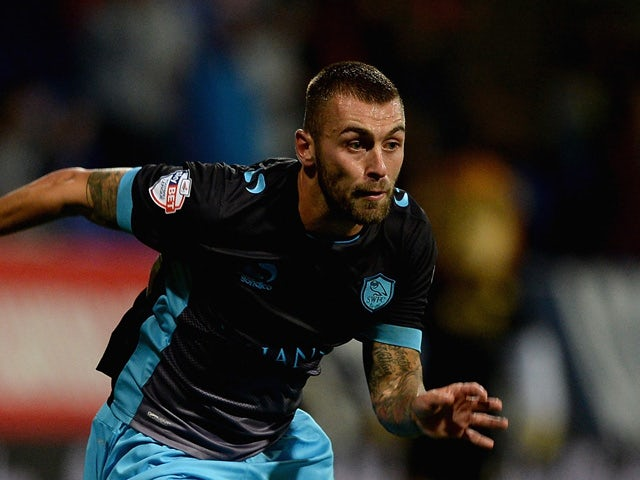 Jack Hunt of Sheffield Wednesday during the Sky Bet Championship match between Bolton Wanderers and Sheffield Wednesday at Reebok Stadium on September 15, 2015