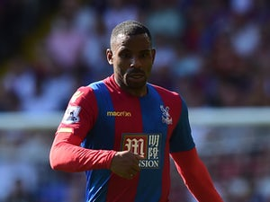 Jason Puncheon of Crystal Palace in action during the Barclays Premier League match between Crystal Palace and Aston Villa at Selhurst Park on August 22, 2015