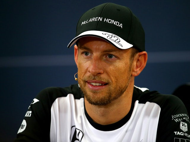 Jenson Button of Great Britain and McLaren Honda speaks at a press conference during previews to the Formula One Grand Prix of Japan at Suzuka Circuit on September 24, 2015