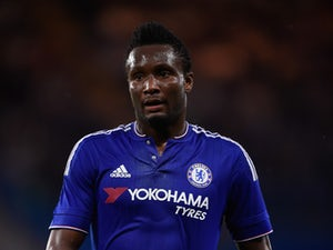Mikel John Obi of Chelsea looks on during a Pre Season Friendly between Chelsea and Fiorentina at Stamford Bridge on August 5, 2015