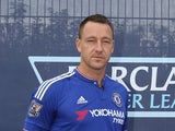 John Terry of Chelsea FC during the official Premier League season launch media event at Southfields Academy on August 5, 2015