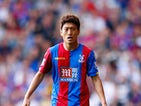 Lee Chung-Yong of Crystal Palace looks on during the Barclays Premier League match between Crystal Palace and Manchester City at Selhurst Park on September 12, 2015