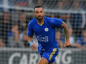 Marcin Wasilewski of Leicester City during the Pre Season Friendly match between Burton Albion and Leicester City at Pirelli Stadium on July 28, 2015