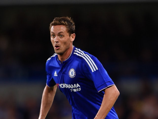 Nemanja Matic of Chelsea in action during a Pre Season Friendly between Chelsea and Fiorentina at Stamford Bridge on August 5, 2015