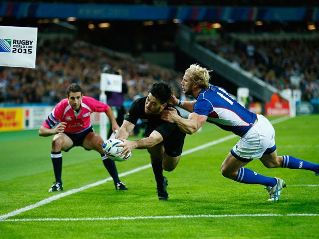 Result: All Blacks made to toil by brave Namibia
