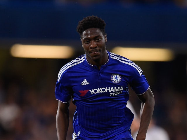 Ola Aina of Chelsea in action during a Pre Season Friendly between Chelsea and Fiorentina at Stamford Bridge on August 5, 2015