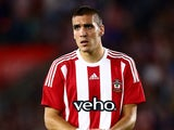 Oriol Romeu of Southampton looks on during the UEFA Europa League Play Off Round 1st Leg between Southampton and Midtjylland at St Mary's Stadium on August 20, 2015 in Southampton, England.