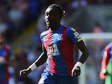 Pape Souare of Crystal Palace in action during the Barclays Premier League match between Crystal Palace and Aston Villa at Selhurst Park on August 22, 2015