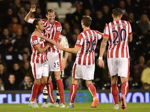 Crouch edges Stoke past Fulham