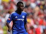Chelsea's Brazilian midfielder Ramires controls the ball during the FA Community Shield football match between Arsenal and Chelsea at Wembley Stadium in north London on August 2, 2015