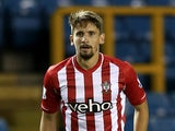 Gaston Ramirez of Southampton in action during the Capital One Cup Second Round match between Millwall and Southampton at The Den on August 26, 2014 in London, England.