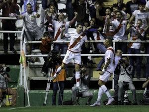 Result: Rayo defeat 10-man Sporting Gijon