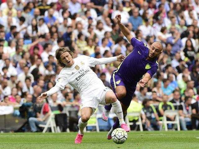 Malaga confirm Nordin Amrabat injury