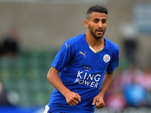 Riyad Mahrez Of Leicester City During The Pre Season Friendlly Match Between Lincoln City And Leicester