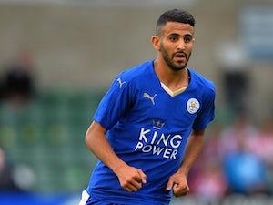 Team News: Mahrez back for Leicester against Palace